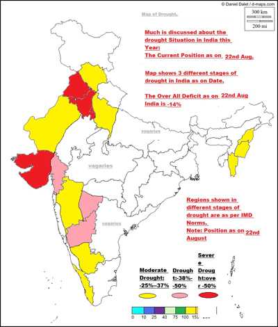 Picture of Drought Affected Areas of India