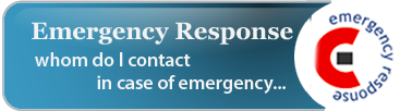 Emergeny Response  Whom do I contact in case of Emergency