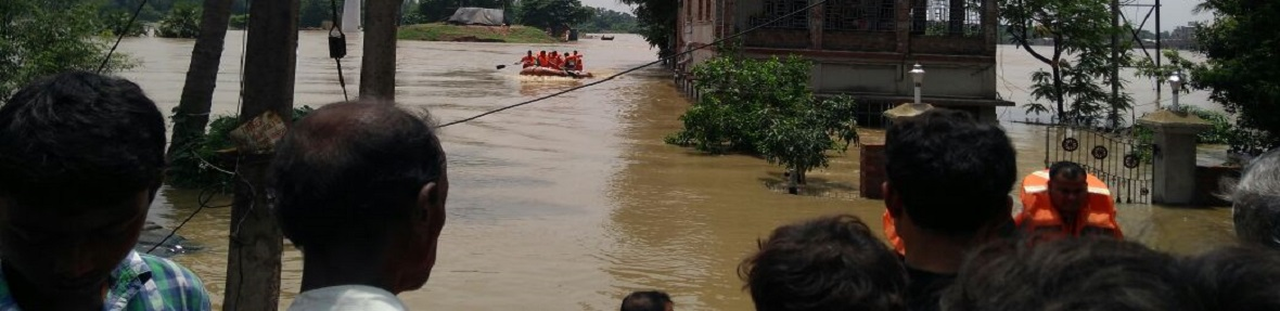 Rescue Operation by NDRF at Khanakul-II,Hooghly