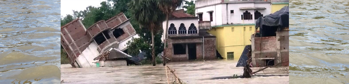 Damage at Ghatal