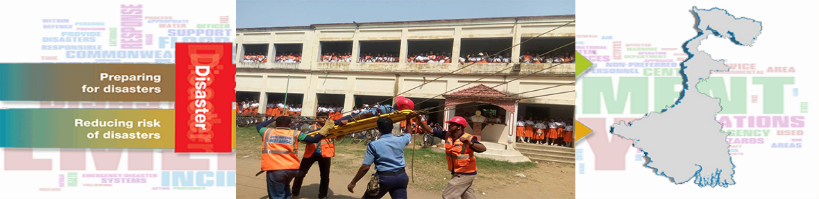 Mock drill at udaynaranpur